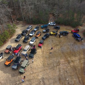 Old Dominion Jeep Toys 4 Tots Run
