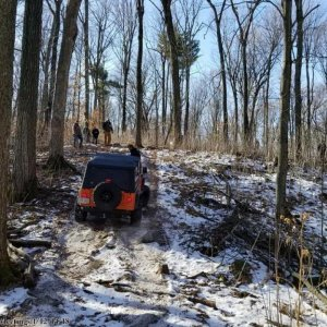 Winter Wheeling With Wrangler Riders