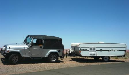King size pull out up front is roomy. & Wranglers and Pop Up Campers? - Jeep Wrangler Forum