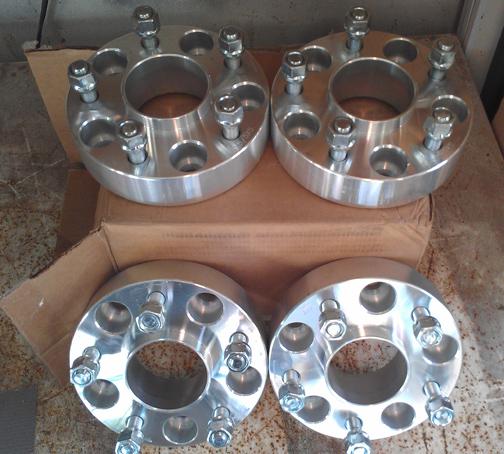 """1.5"""" Wheel Spacers"""