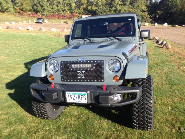 10th Anniversary Rubicon Unlimited X Metal Grill