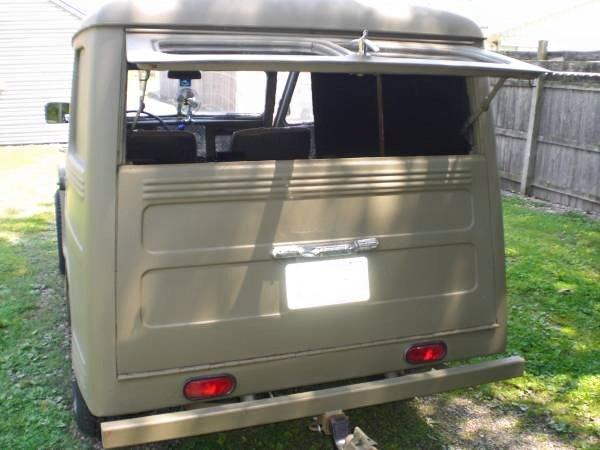 1953 Willys Utility Wagon Rear