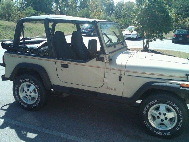 1992 Jeep Wrangler, 4.0