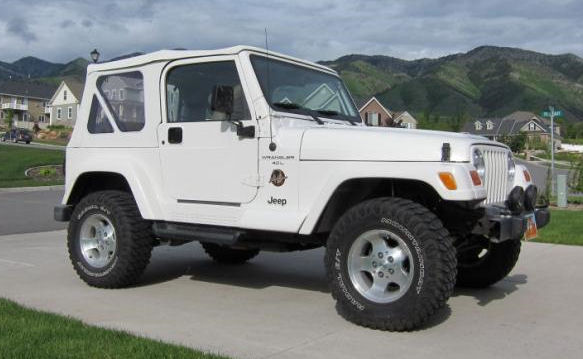 2000 TJ Sahara Soft Top