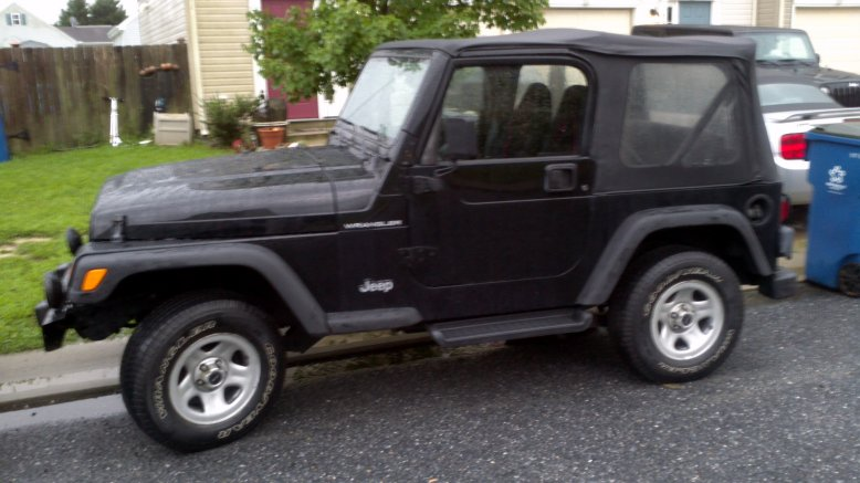 2001 Tj Evolution