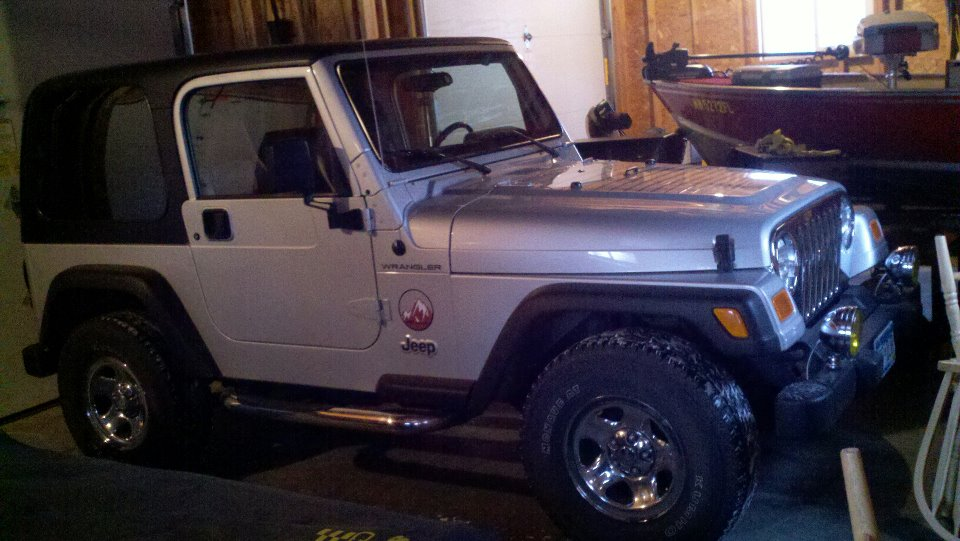 2002 Wrangler Apex Edition
