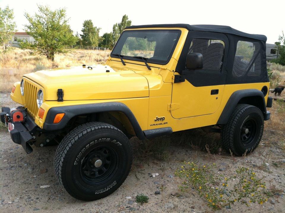 2003 Jeep Wrangler Se 1