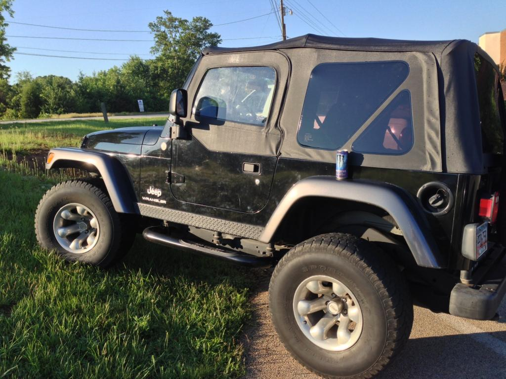 2004 Jeep Wrangler Rocky Mountain Edition