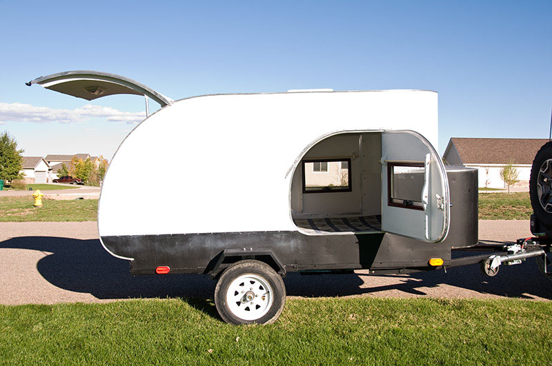 2006 Gt/hot Bullnose Teardrop Trailer