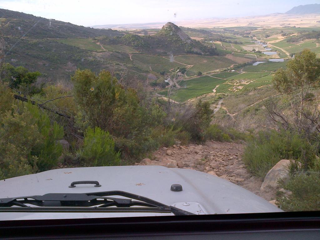 2006 Wrangler Tj On Babylonstoren Trail