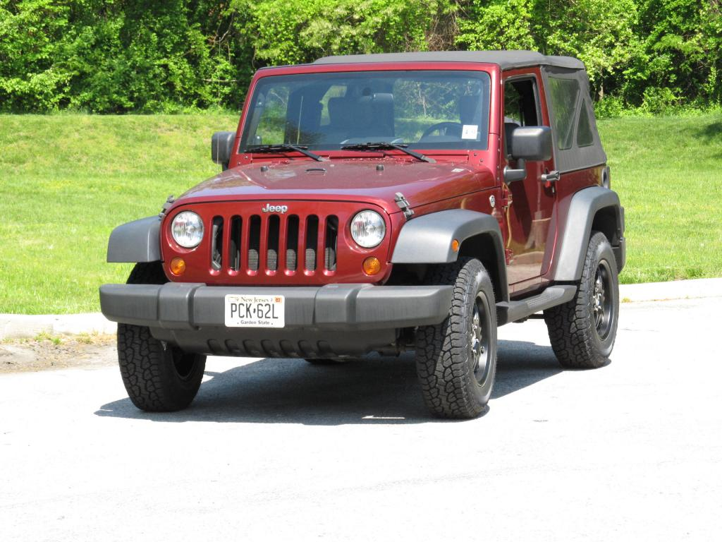 2008 Wrangler With New Dynapros And Wheels