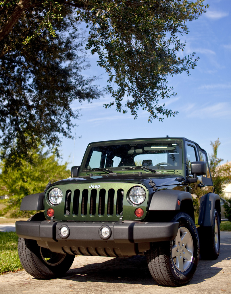 2011 Jeep Wrangler Sport S, Natural Green Pearl