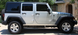 2012 Jeep Wrangler Sport Unlimited Before