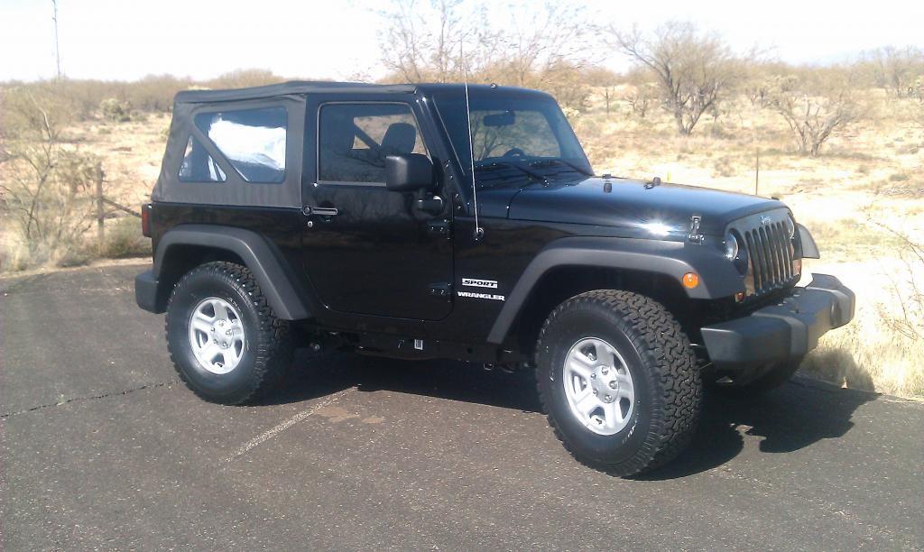 2012 Jeep Wrangler..........stock