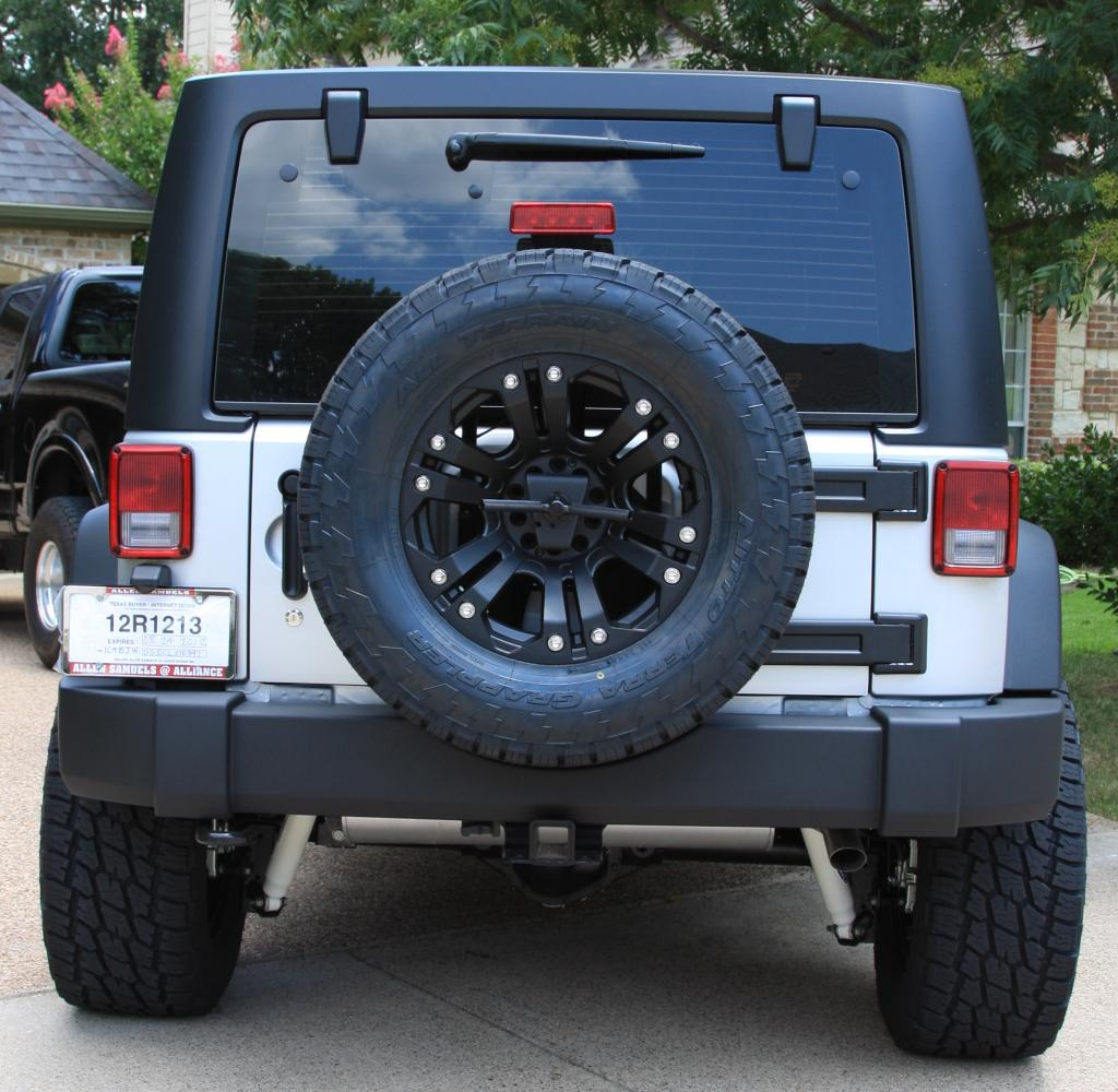 2012 Jeep Wrangler Unlimited Sport After