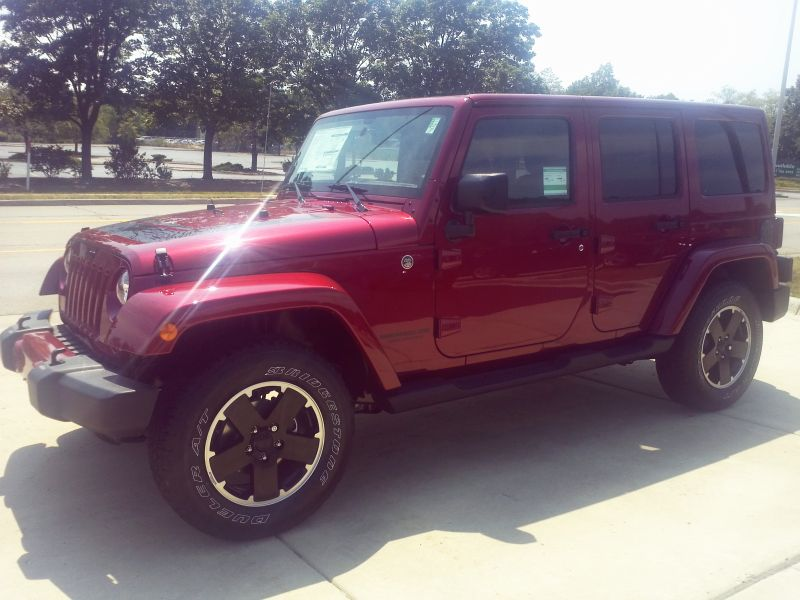 2012 Wrangler Unlimited Altitude Edition