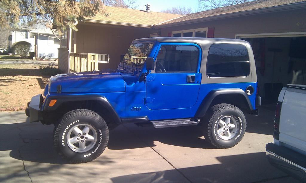 99 Jeep . New Wheels And Tires Coming In 2 Weeks