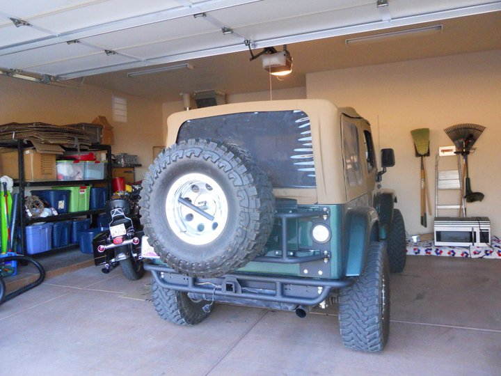99 Tj Or Fab Tire Carrier And Bumper