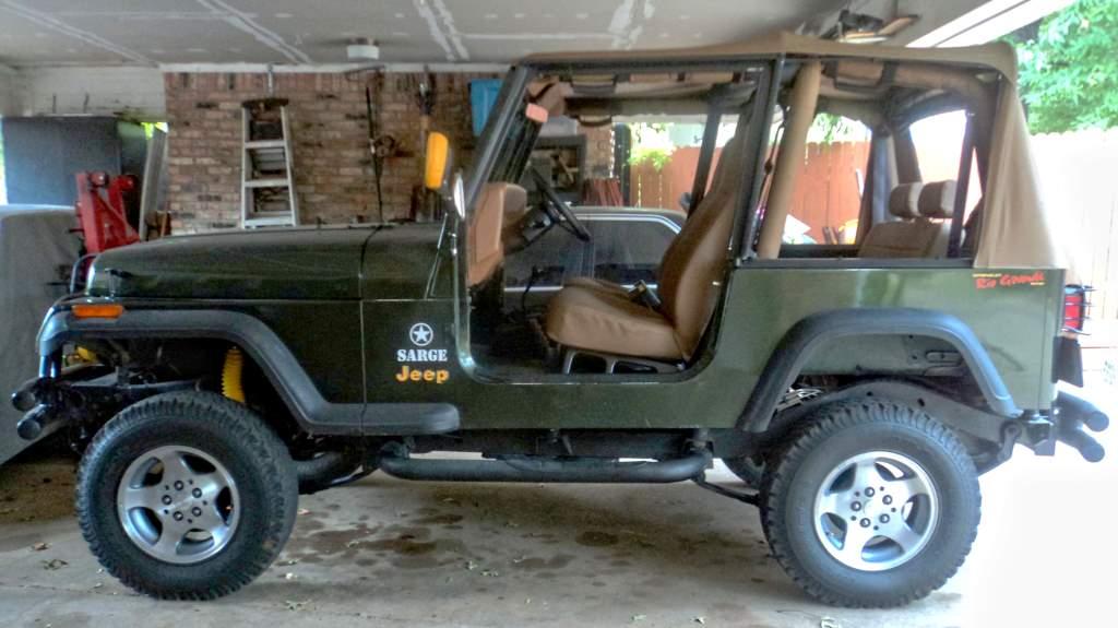 Anna's Jeep