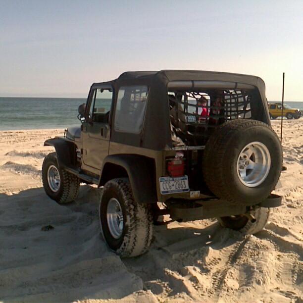 Beach Jeeping On Long Island