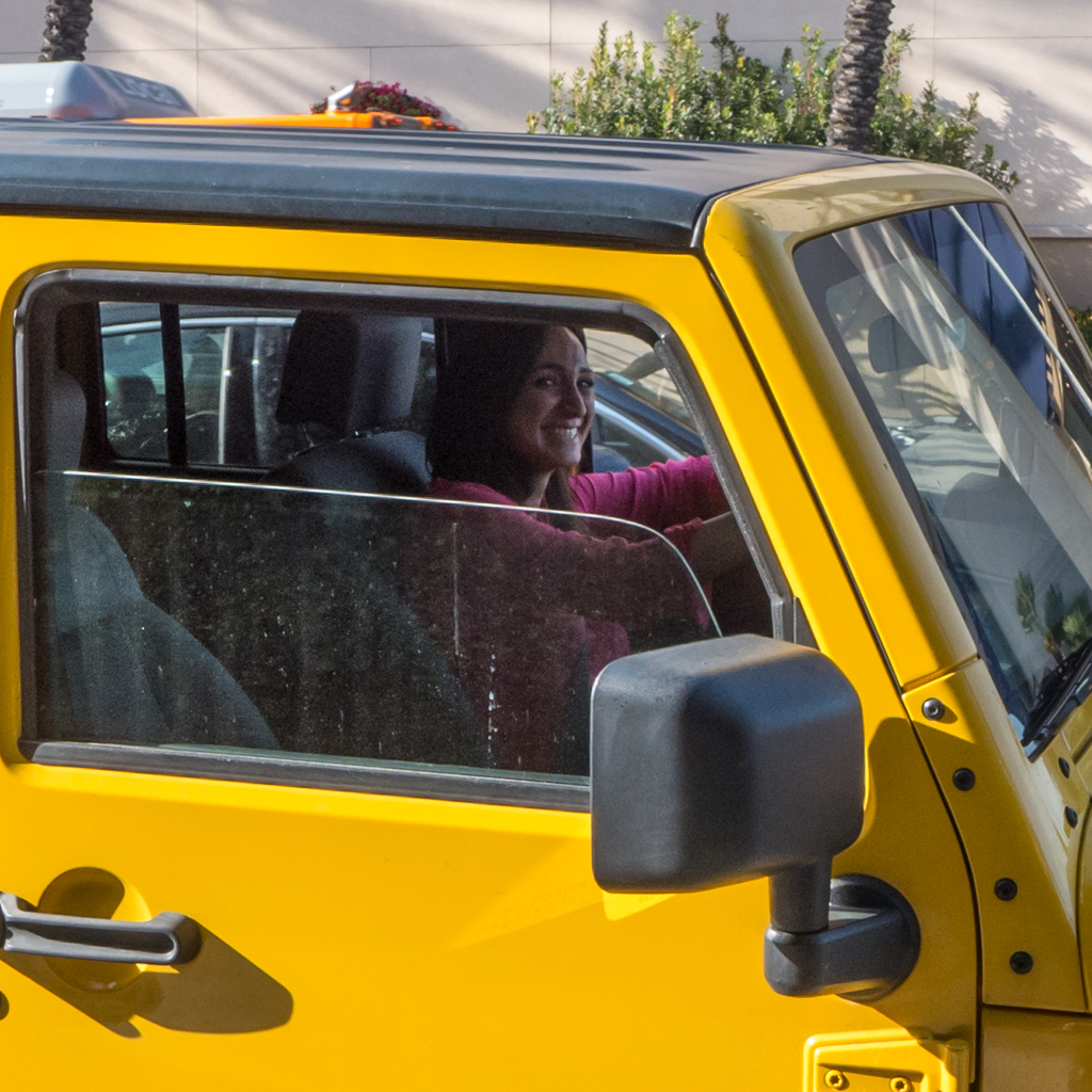 Beverly Hills Jeep Girl