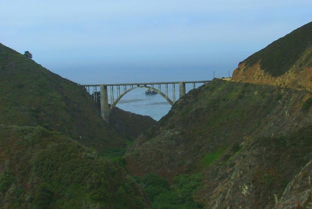 Bixby Bridge From Coast Road