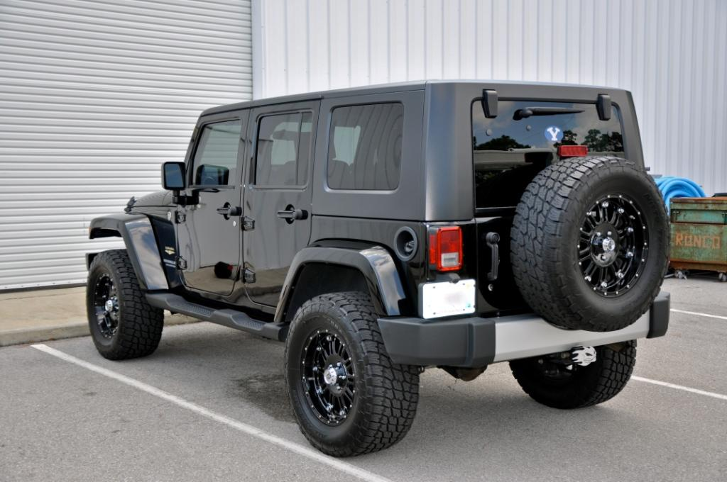 Blacked Out Jeep