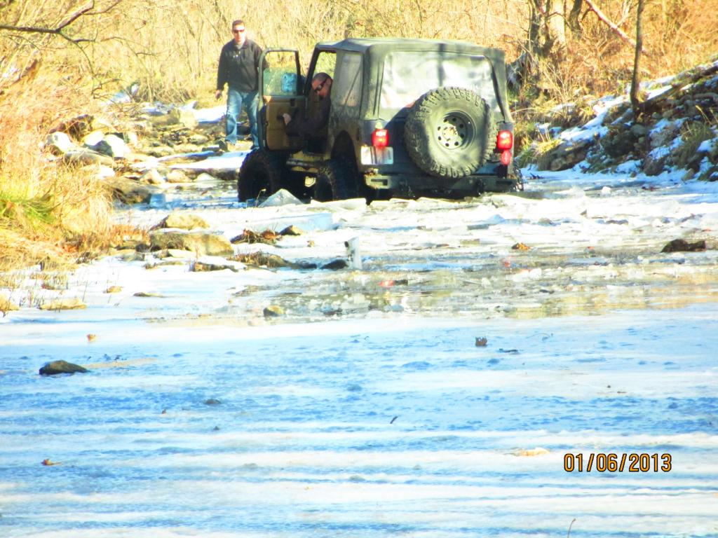 Breaking Thru 8in Ice In The Tj