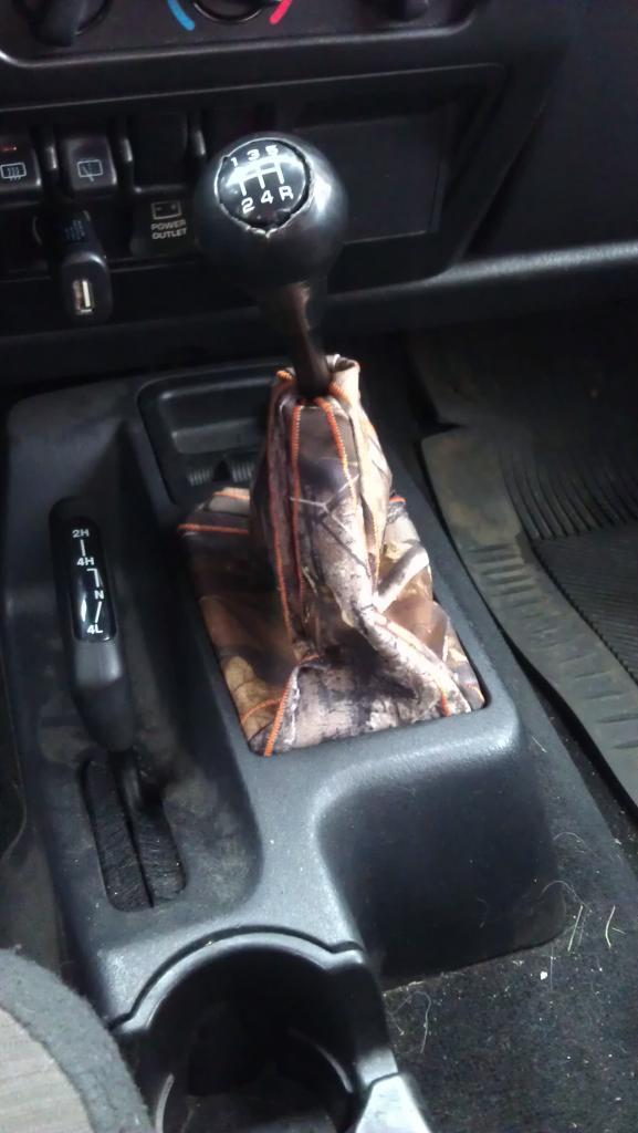 Camo Shift Boot