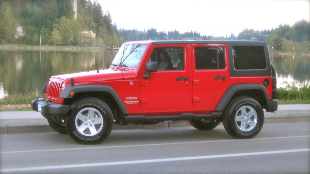 Cherry Jeep Pics