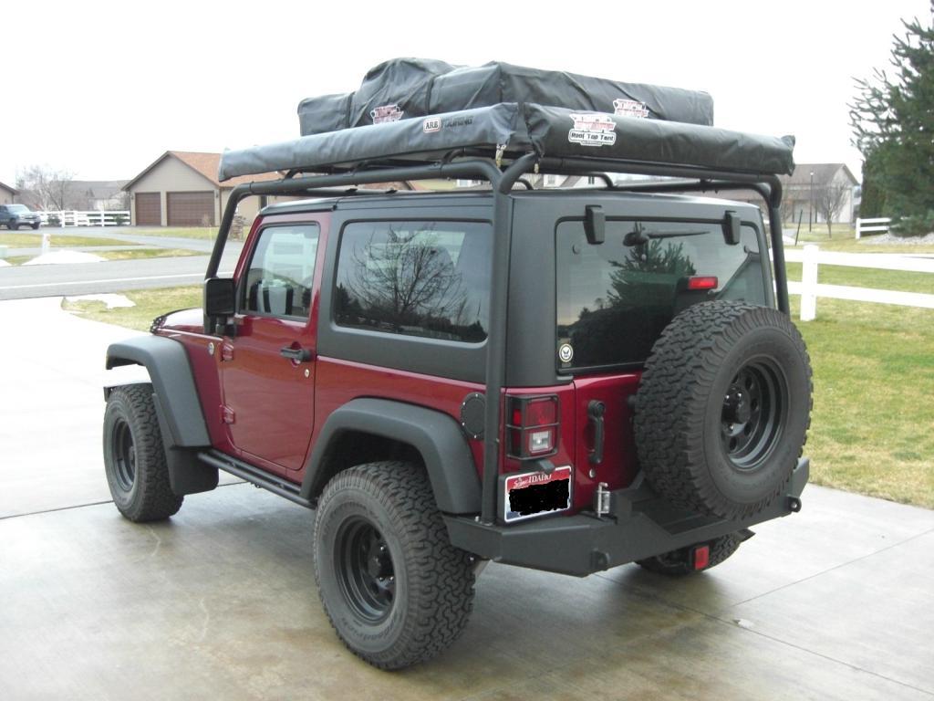 stunt watch crazy youtube jku jeep rack roof wrangler