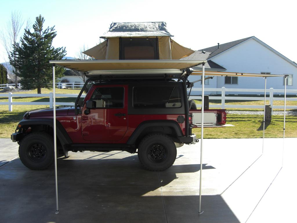 I mounted my ARB 2000 Awning to the Drivers side of the vehicle because the optional ARB 2000 Enclosed Screen Room/Tent has the door to the back in that ...  sc 1 st  Jeep Wrangler Forum & Official Expedition and Overland Rig Talk Thread - Page 58 - Jeep ...