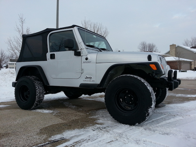 Jeep Tj 2.5 Inch Lift >> 31s with 2 inch lift - Jeep Wrangler Forum