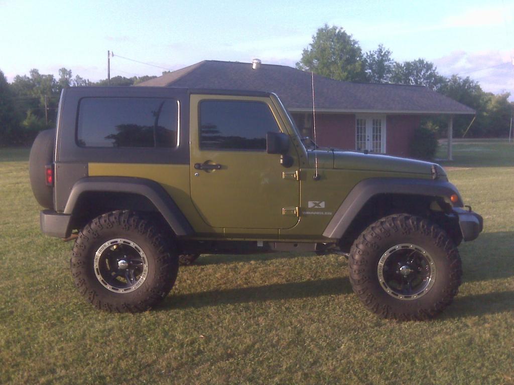 David A's Jeep