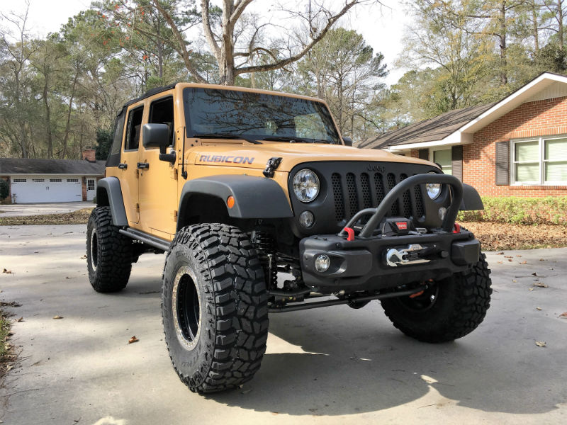 Jeep Wrangler With 37 Inch Tires >> 4 Inch Lift With 37 Inch Tires Jeep Wrangler Forum