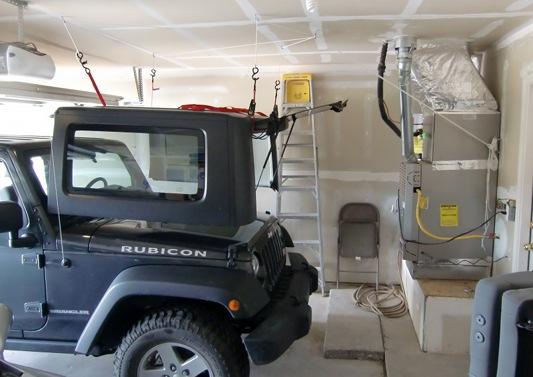 Diy Hardtop Hoist And Dolly Jeep Wrangler Forum