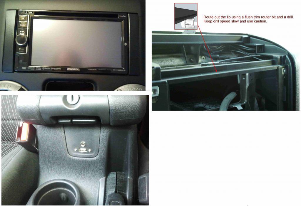 Dnx6990 Install Pics