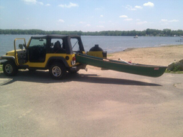 Does A Canoe Fit In Your Jeep?