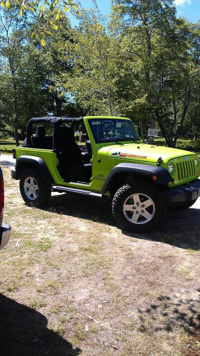 Doorless Jeep