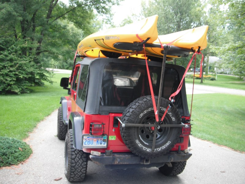Rugged Ridge Light Bar For Kayak Jeep Wrangler Forum