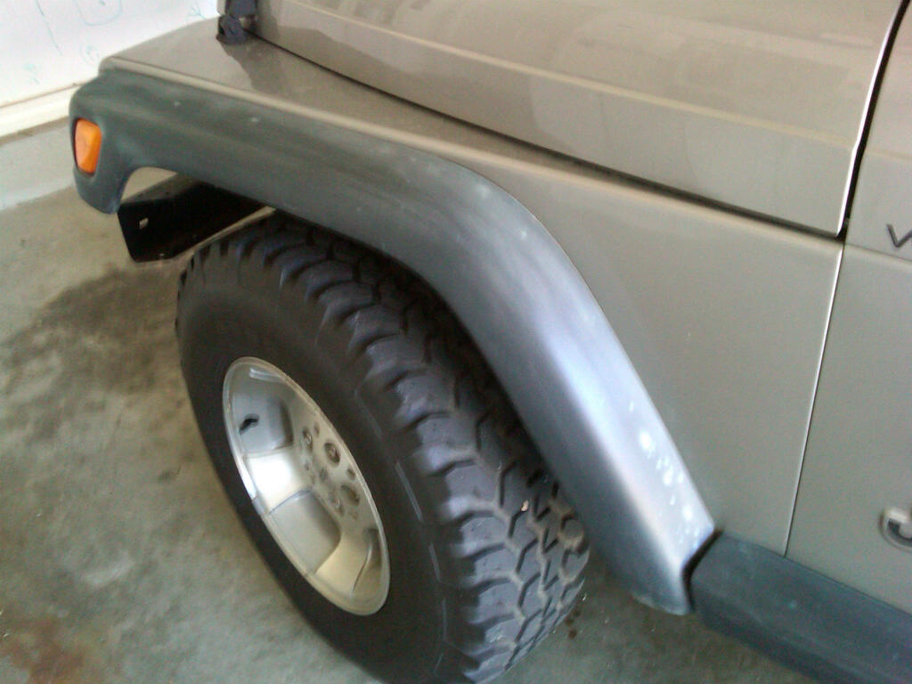 Fender Flare Painting