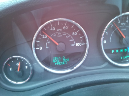 Fuel Economy Not All Bad