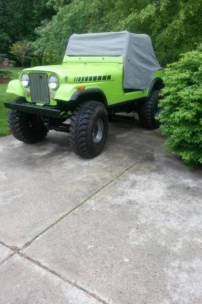 Green 79 Cj-7