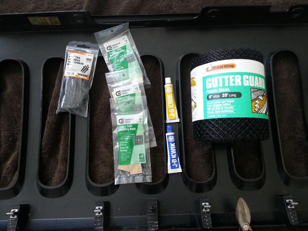 Gutter Guard Install