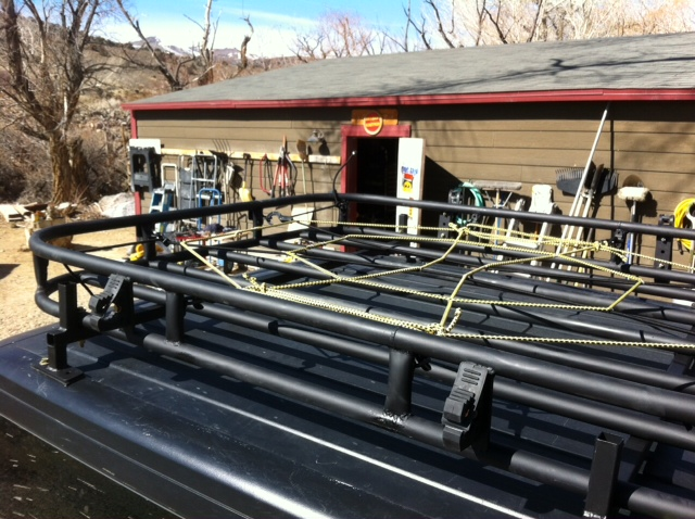 Home Made Roof Rack For My Jku