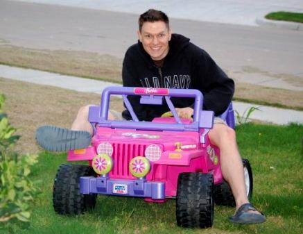 If It's A Jeep, I'll Drive It. Even Barbie's