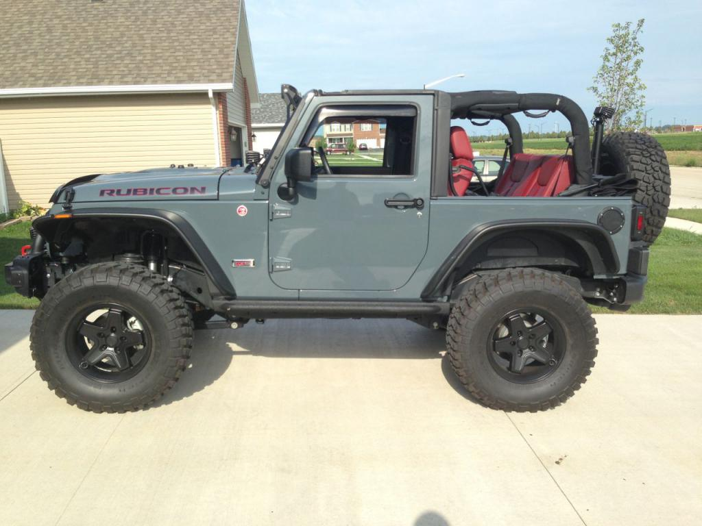 "Jeep Wrangler Jk >> Show me your 35's on 3.5"" lifts - Jeep Wrangler Forum"