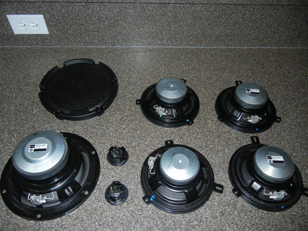 Infinity Speakers 2012
