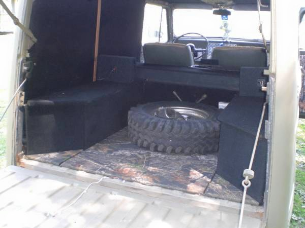 Inside Back '53 Willys Wagon