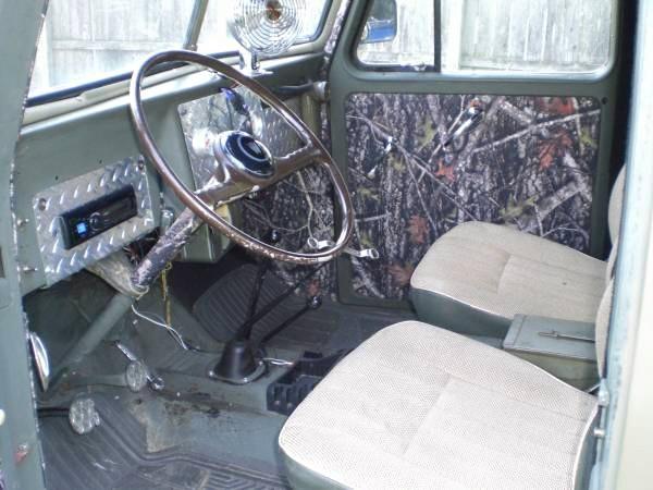 Inside my '53 willys Wagon